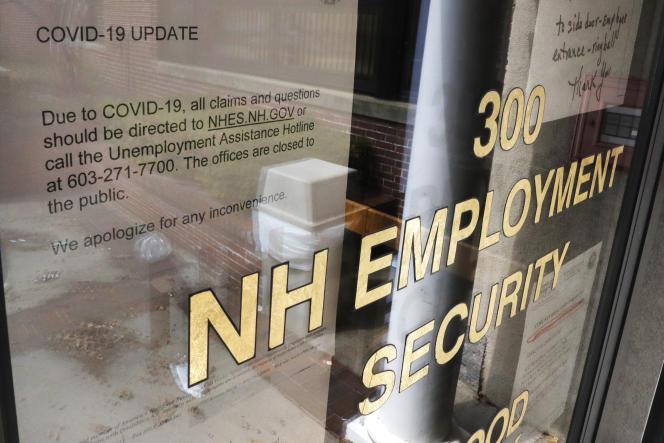 Un centre d'emploi dans le New Hampshire.