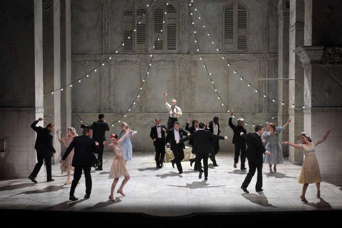 «Roméo et Juliette», de William Shakespeare, mis en scène par Eric Ruf, sera diffusé le 24mai sur France5.
