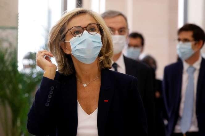 La présidente de la région Ile-de-France, Valérie Pécresse, à Paris, le 8mai.