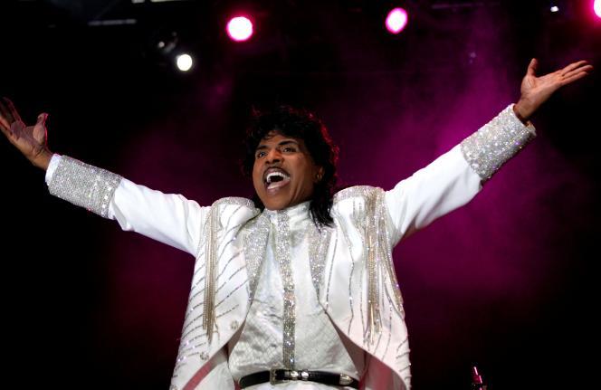 Le chanteur américain Little Richard, en Espagne, en juillet 2005.