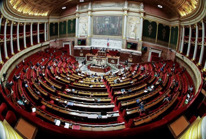 A l'Assemblée nationale, le 7 mai.