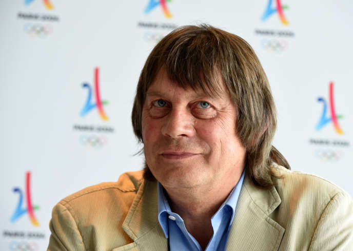 Bernard Thibault, à Paris, lors d'une réunion consacrée aux Jeux 2024, le 19juin2018.