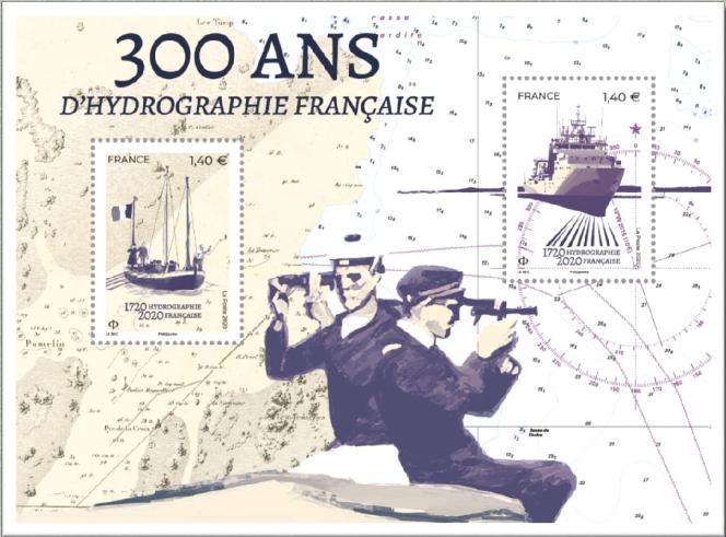 Bloc-feuillet dessiné par Marion Le Bec en vente officielle dès le 22 mai.