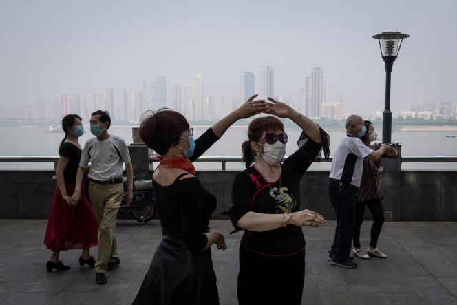 A Wuhan (Chine), le 1er mai.