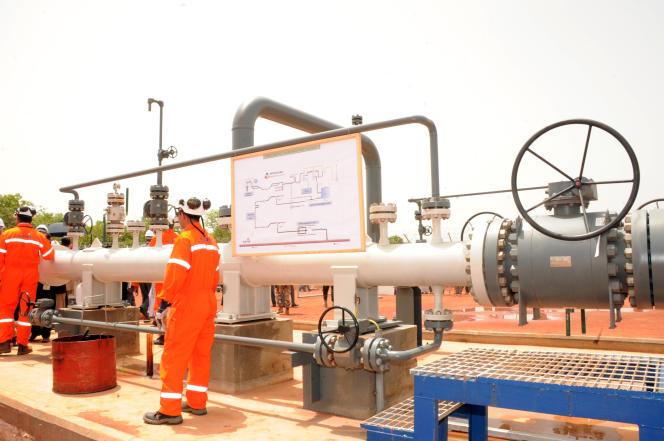 Un pipeline à Badila, dans le Sud du Tchad, en 2013.