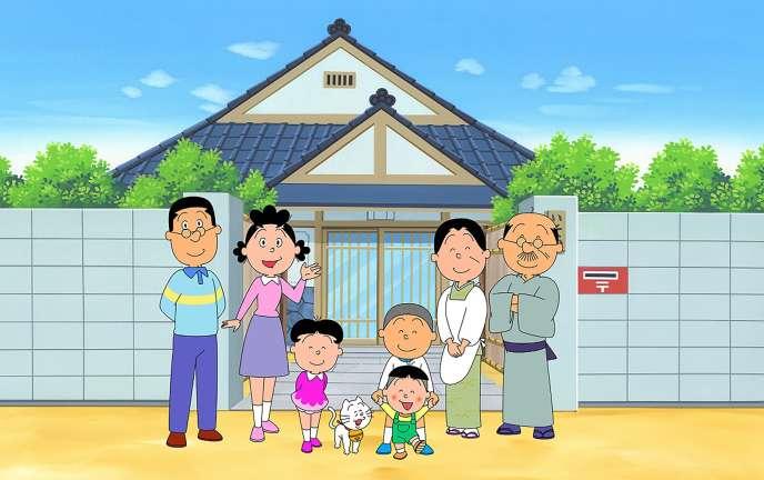 « Sazae-san» détient le record mondial de longévité pour une série animée en cours.
