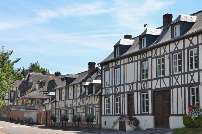 Les jolies maisons à colombage de Lyons.