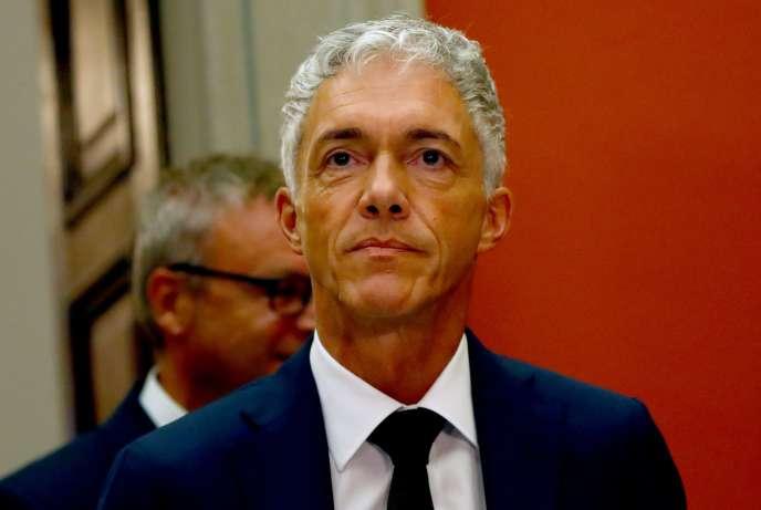 Le procureur suisse Michael Lauber, à Berne, en septembre2019.