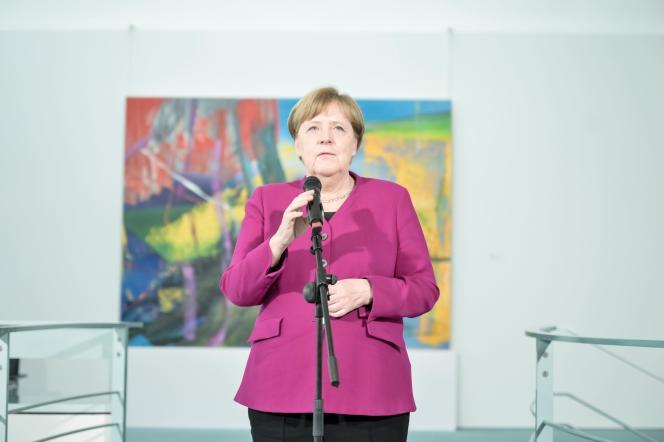 La chancelière allemande, Angela Merkel,le 11 mai à Berlin.