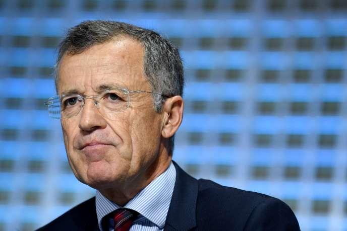 Philippe Darmayan est président de l'UIMM depuis avril 2018. Ici à Paris, en octobre 2017.