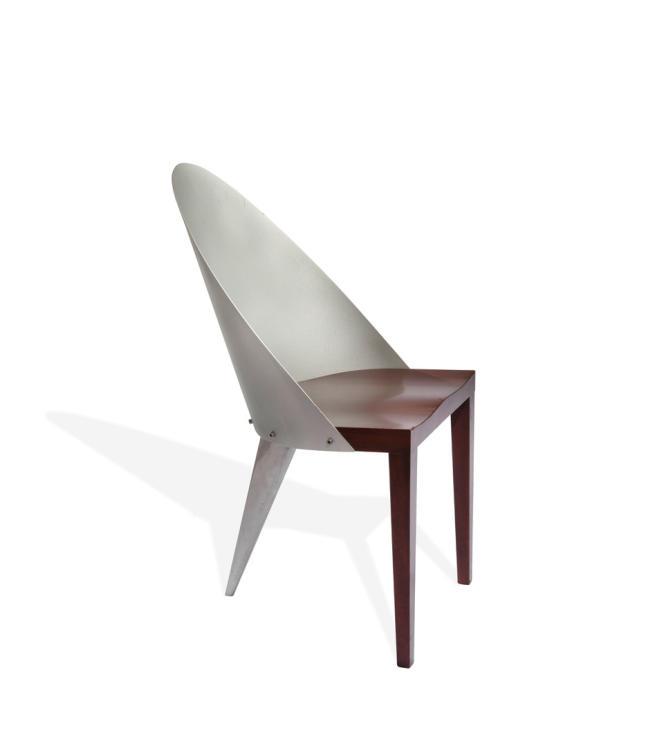 Prototype de la chaise Royalton, de Philippe Starck, 1988.