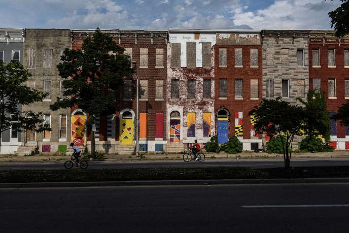 A Baltimore, dans le Maryland aux Etats-Unis, en mai 2019.