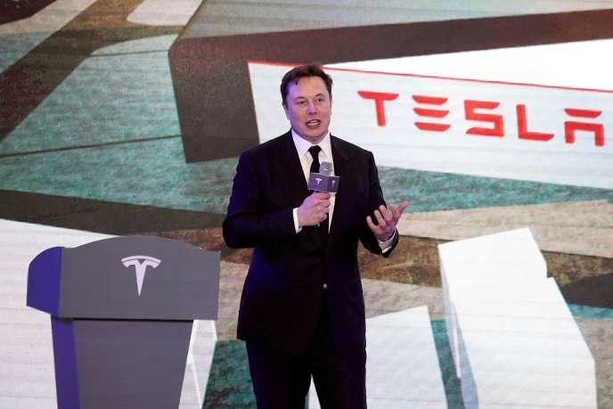 Elon Musk à Shanghai, en Chine, le 7 janvier.