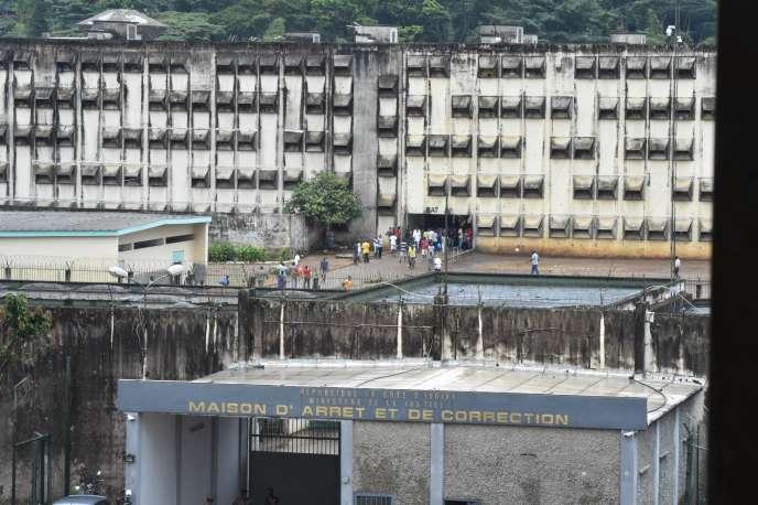 La Maison d'arrêt et de correction d'Abidjan, en septembre 2018.