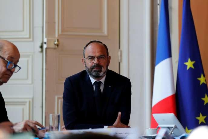 Edouard Philippe, à Matignon, le 14 mai 2020.