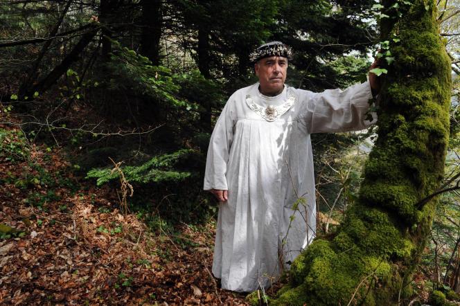 Per-Vari Kerloc'h, grand druide de Bretagne.