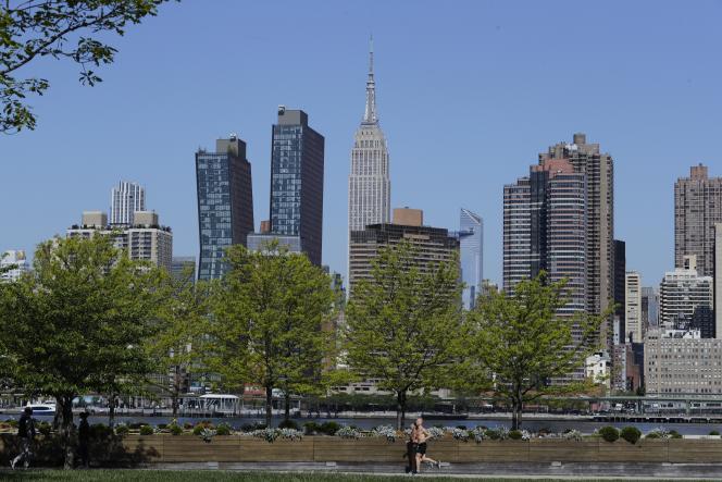 New York, quartier de Queens, mai 2020.