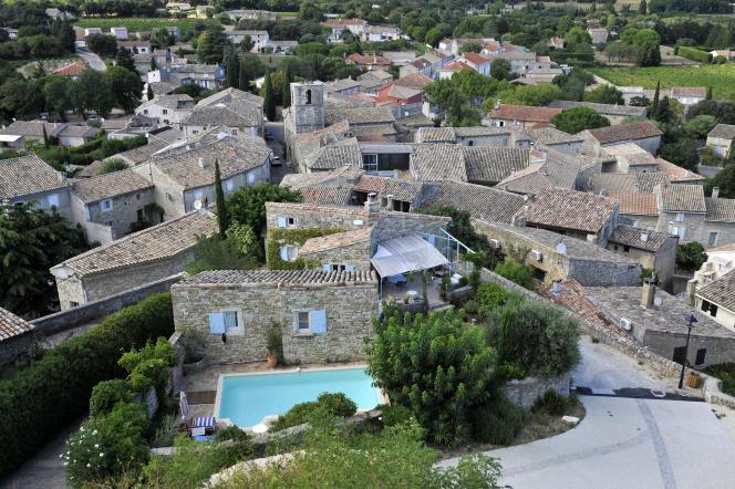 Le village de Chamaret, dans la Drôme.