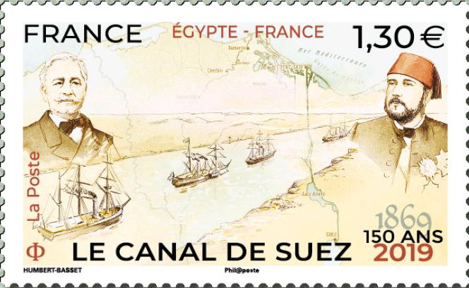 Timbre-poste émis le 7 octobre 2019, dessiné par Stéphane Humbert-Basset et tiré à 500000 exemplaires.