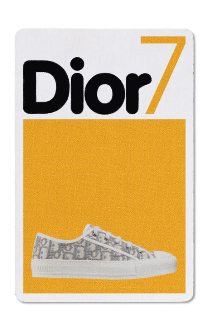 Tennis Walk'n'Dior en coton brodé Dior Oblique, Dior, 790€.