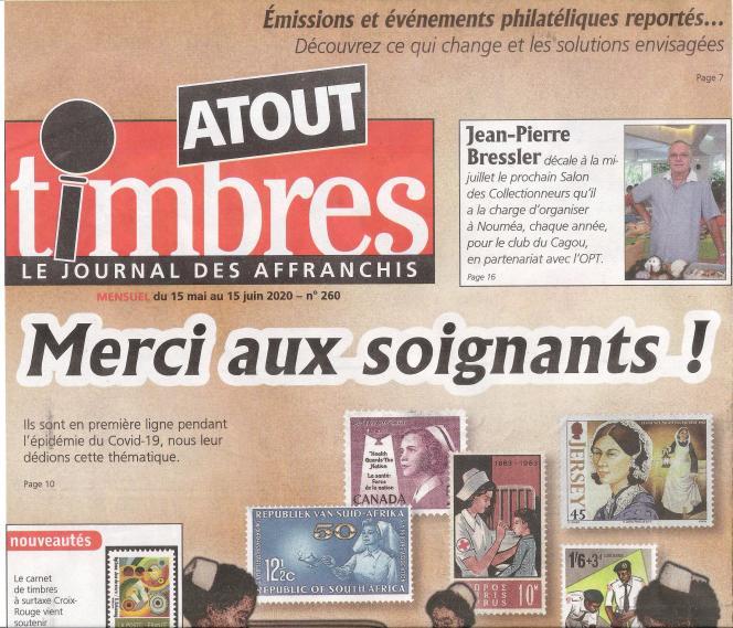 « Atout timbres », 32 pages, 2,20 euros, en vente en kiosques ou par abonnement auprès de l'éditeur Yvert et Tellier.