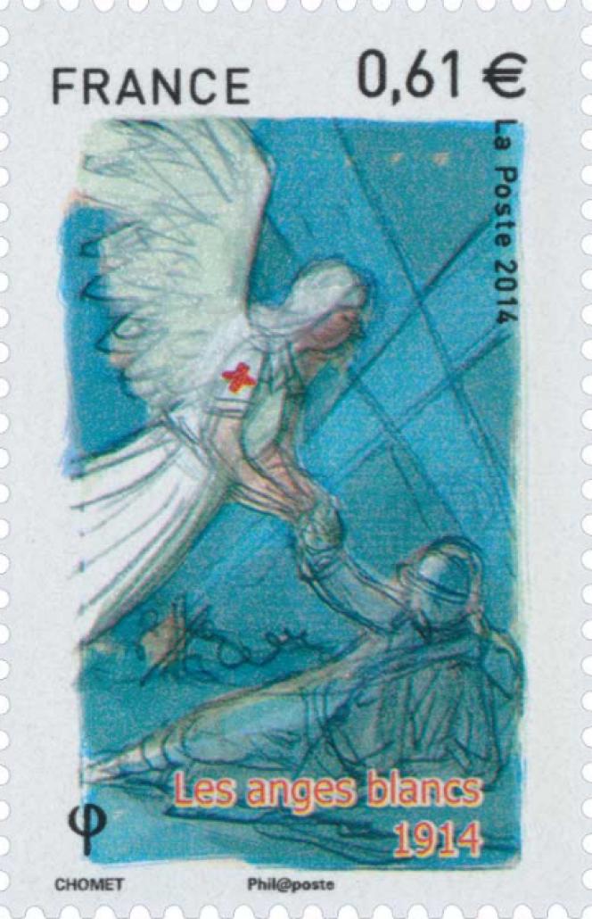 Création de Sylvain Chomet pour La Poste en 2014.