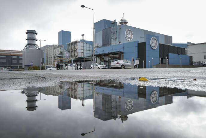 L'usine General Electric de Belfort, en octobre 2019.