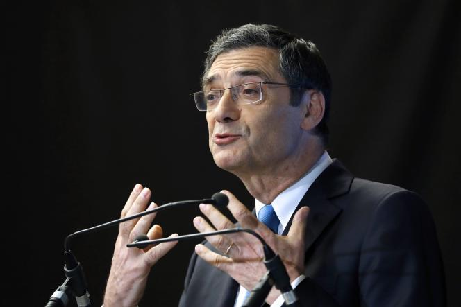 L'ancien président du conseil départemental des Hauts-de-Seine, Patrick Devedjian, à Boulogne-Billancourt (Hauts-de-Seine), le 21 septembre 2016.