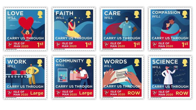 L'île de Man rend hommage à tous ceux qui furent en première ligne durant la pandémie due au coronavirus.