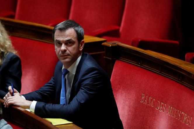 Le ministre de la santé, Olivier Véran, à l'Assemblée nationale à Paris, le 12 mai.