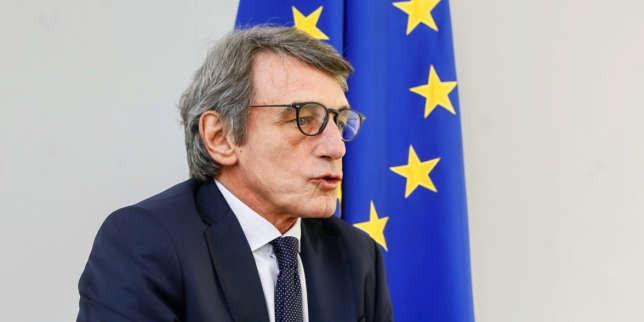 David Sassoli, le patron du Parlement européen dopé par le coronavirus