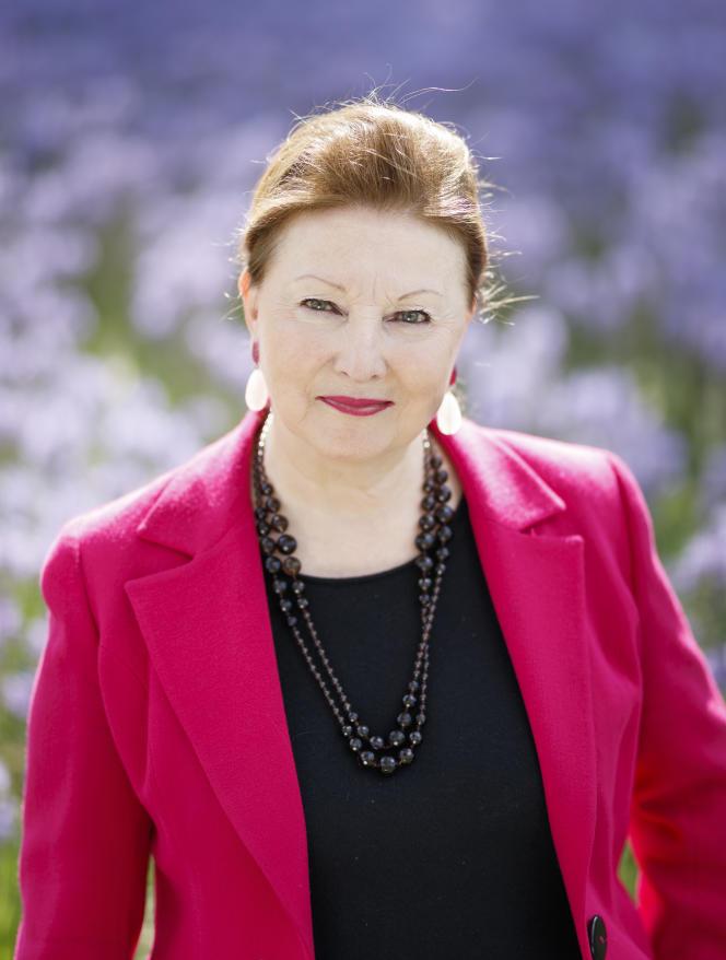 Chantal Colleu-Dumond,directrice du domaine de Chaumont-sur-Loire (Loir-et-Cher),en 2019.