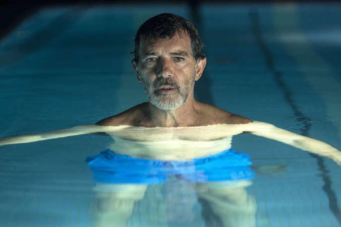 Antonio Banderas dans le rôle du cinéaste Salvador Mallo dans«Douleur et gloire», de Pedro Almodovar.