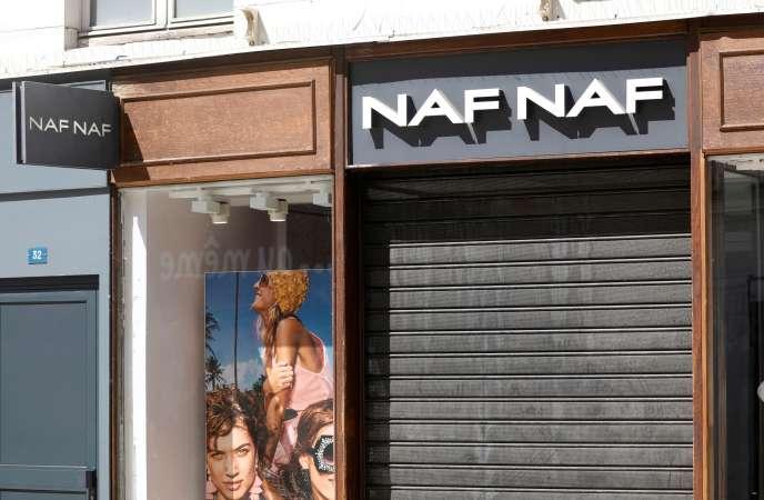 Une boutique Naf Naf à Vincennes, le 18 mai.