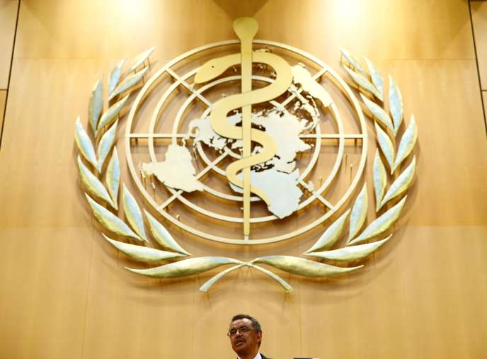 Le directeur général de l'OMS, Tedros Adhanom Ghebreyesus, lors de l'assemblée mondiale de l'institution à Genève, le 23 mai 2017.