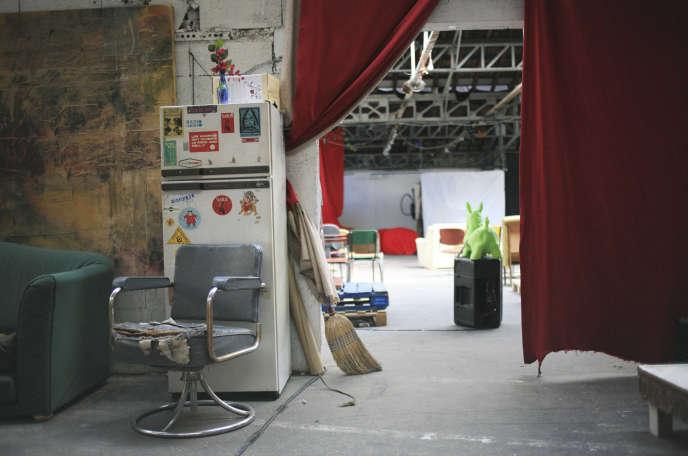 Le Théâtre de Verre, rue de l'Echiquier, à Paris, en 2007.