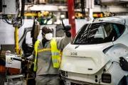 L'usine Renault de Flins-sur-Seine (Yvelines), le 6 mai.