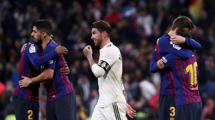Pour la reprise des matchs de la Liga, les joueurs des équipes espagnoles devront éviter les embrassades.