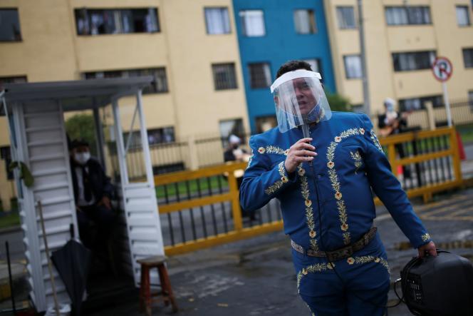 A Bogota, en Colombie.