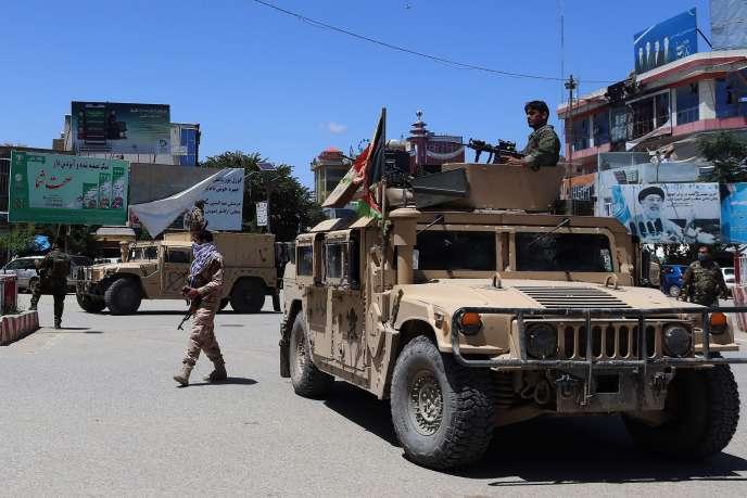A Kaboul, le 19 mai.