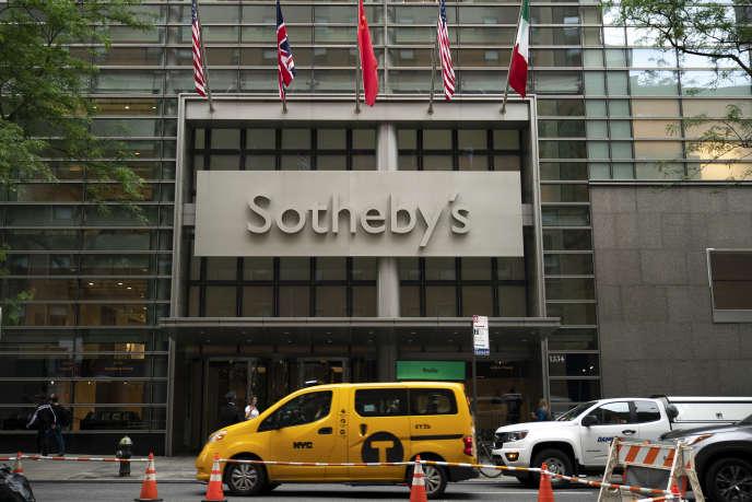 Le siège de Sotheby's, à New York, en juin 2019.