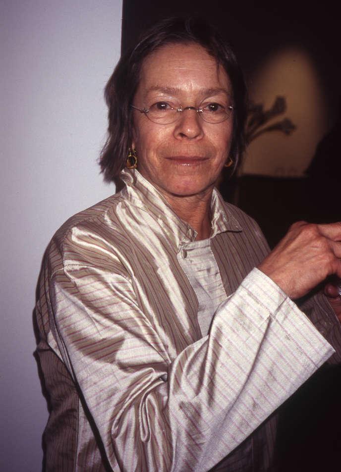 La peintre Susan Rothenberg, en 2004, à la galerie Sperone Westwater à New York.