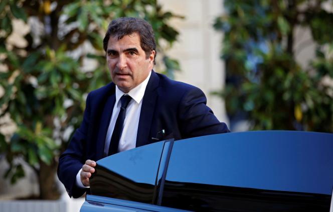 Christian Jacob,député de Seine-et-Marne et président du parti Les Républicains (LR) à l'hôtel Matignon à Paris, le 20 mai.