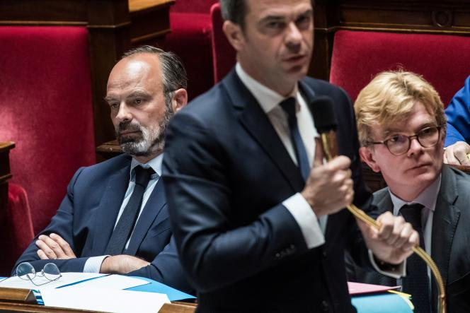 Le ministre de la santé, Olivier Véran, à l'Assemblée nationale, à Paris, le 19 mai.