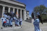Etats-Unis : à l'université Columbia, diplômes sans cérémonie pour Antonia, Gurpreet, Michael et les autres