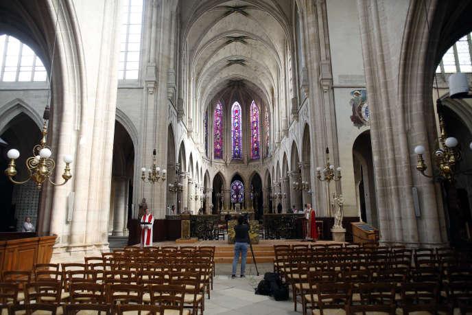 Eglise Saint Germain l'Auxerrois, à Paris, le 15 mai.
