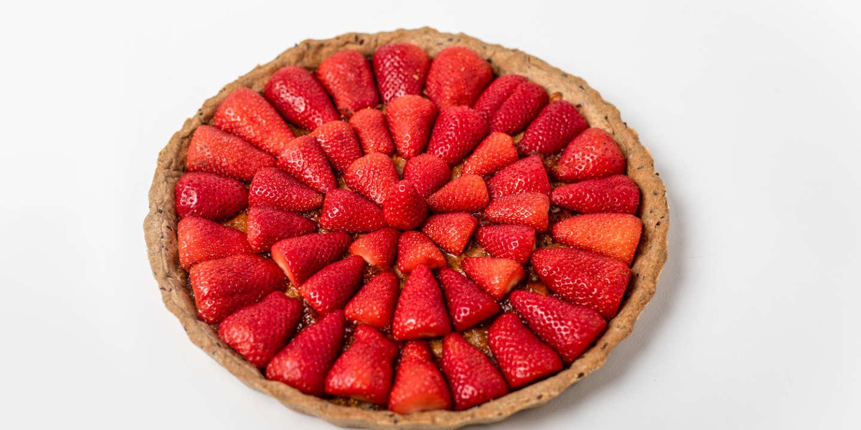 La tarte aux fraises : la recette de Fanny Giansetto