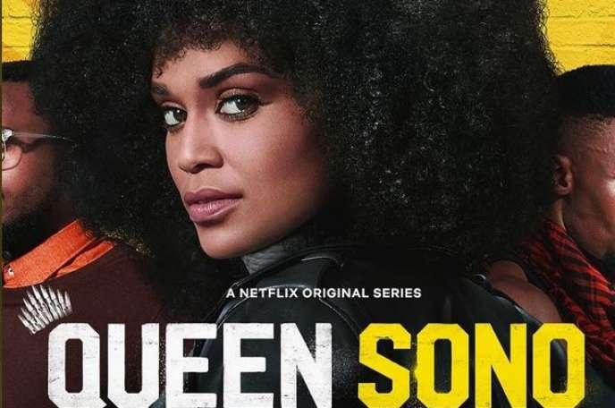 Affiche de la série« Queen Sono», de Netflix.