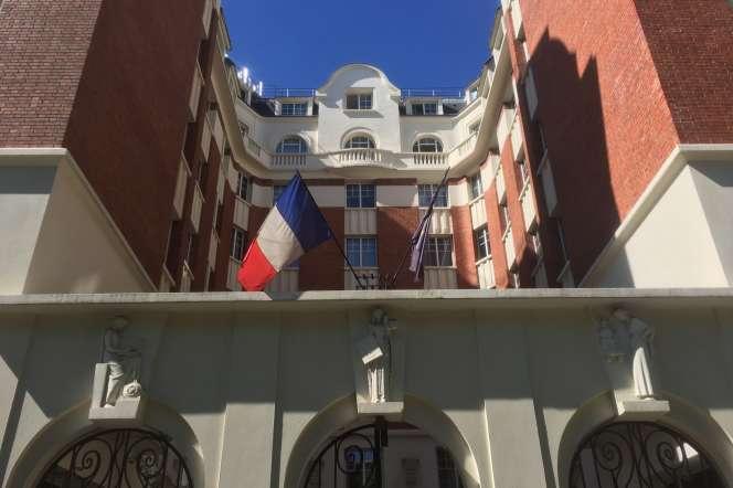 La résidence Cîteaux, boulevard Diderot à Paris, en mai 2020.