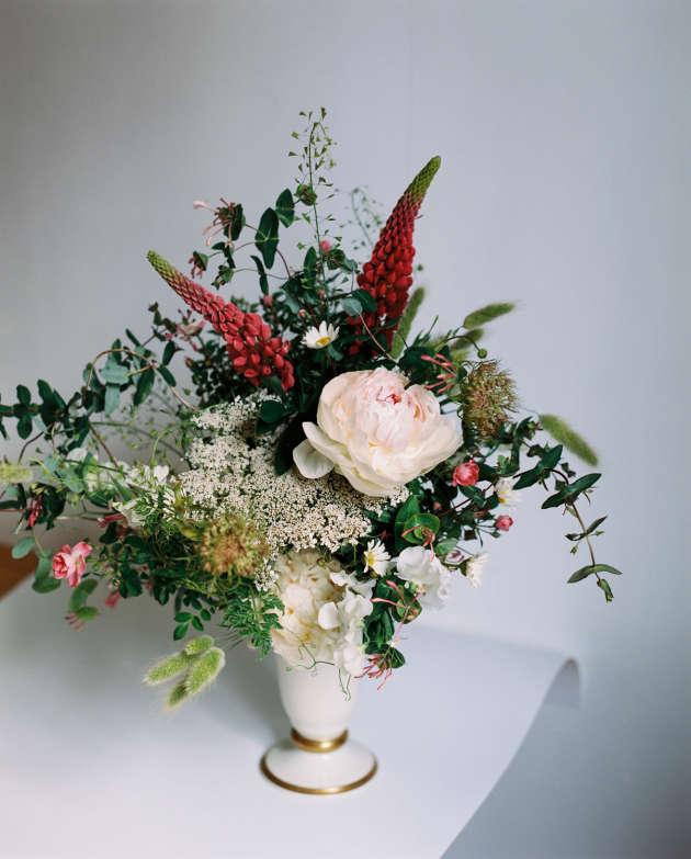 Un bouquet réalisé par la fleuriste parisienne Edith Besenfelder.